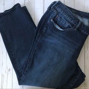 Torrid Dark Wash Skinny Jeans Sz 22 R